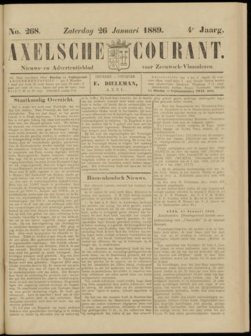 Axelsche Courant 1889-01-26