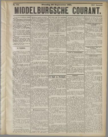 Middelburgsche Courant 1921-09-20
