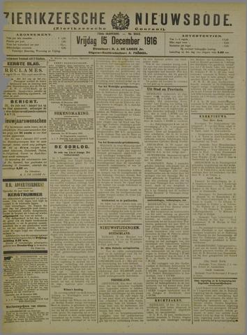 Zierikzeesche Nieuwsbode 1916-12-15
