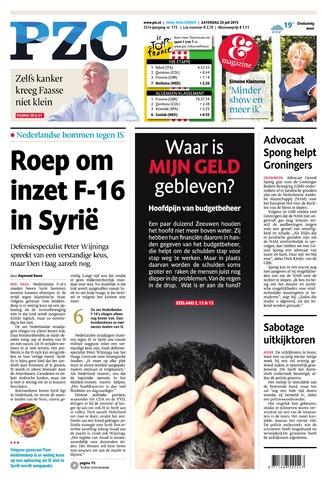 Provinciale Zeeuwse Courant 2015-07-25