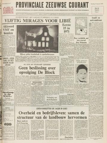 Provinciale Zeeuwse Courant 1970-01-10