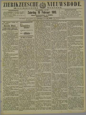 Zierikzeesche Nieuwsbode 1910-02-19