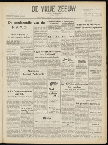 de Vrije Zeeuw 1952-12-19
