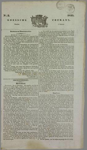 Goessche Courant 1835-01-05