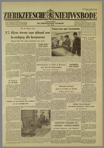 Zierikzeesche Nieuwsbode 1960-02-18