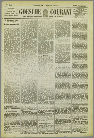 Goessche Courant 1919-08-16