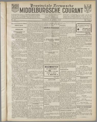 Middelburgsche Courant 1930-04-25
