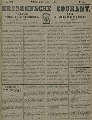 Breskensche Courant 1905-04-15