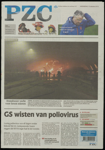 Provinciale Zeeuwse Courant 2014-10-15