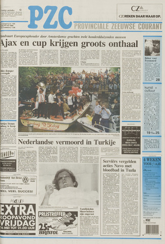 Provinciale Zeeuwse Courant 1995-05-26