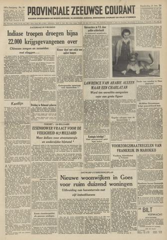 Provinciale Zeeuwse Courant 1954-01-21
