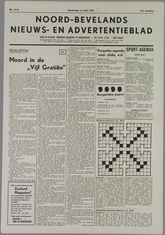 Noord-Bevelands Nieuws- en advertentieblad 1984-04-12