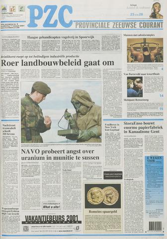 Provinciale Zeeuwse Courant 2001-01-11