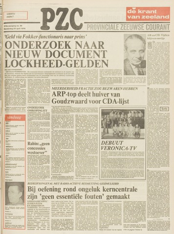 Provinciale Zeeuwse Courant 1976-04-22