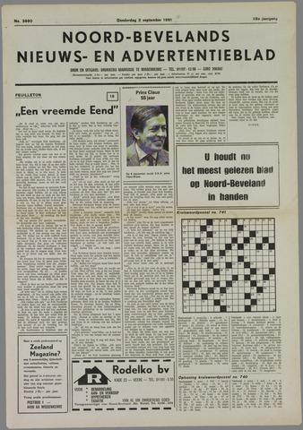 Noord-Bevelands Nieuws- en advertentieblad 1981-09-03