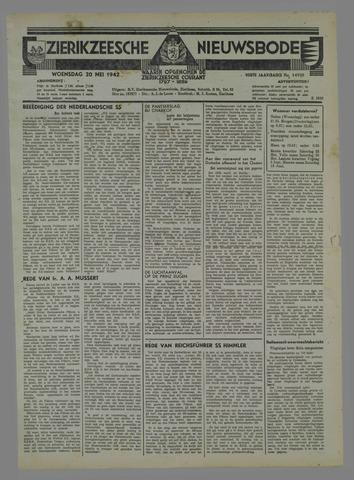 Zierikzeesche Nieuwsbode 1942-05-20