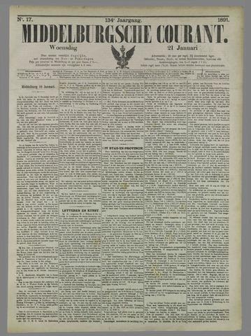 Middelburgsche Courant 1891-01-21