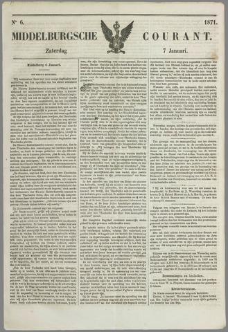 Middelburgsche Courant 1871-01-07