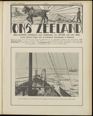 Ons Zeeland / Zeeuwsche editie 1929-02-23
