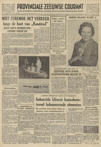 Provinciale Zeeuwse Courant 1959-01-30