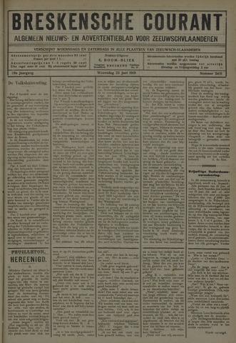 Breskensche Courant 1919-06-25