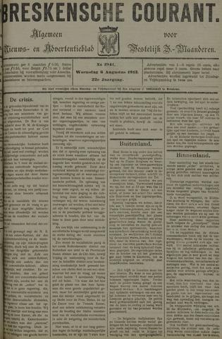 Breskensche Courant 1913-08-06