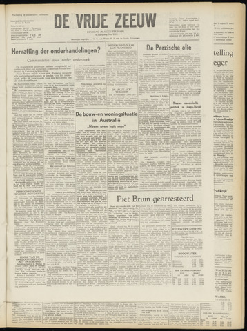 de Vrije Zeeuw 1951-08-28