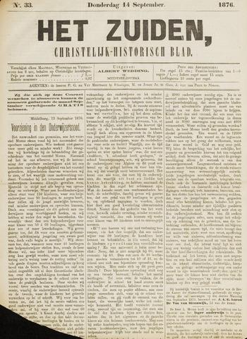 Het Zuiden, Christelijk-historisch blad 1876-09-14