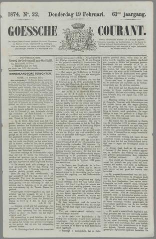 Goessche Courant 1874-02-19
