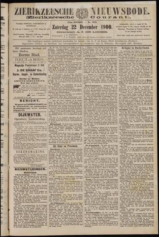 Zierikzeesche Nieuwsbode 1900-12-22