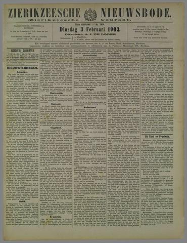 Zierikzeesche Nieuwsbode 1903-02-03