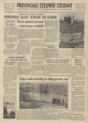 Provinciale Zeeuwse Courant 1961-07-17