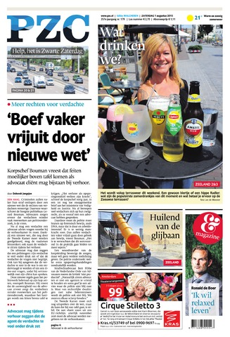 Provinciale Zeeuwse Courant 2015-08-01