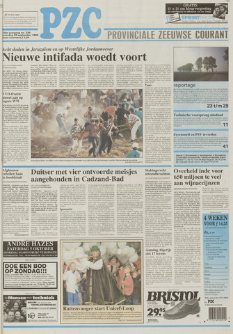 Provinciale Zeeuwse Courant 1996-09-28