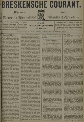 Breskensche Courant 1913-09-17