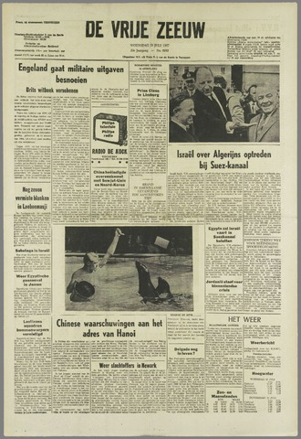 de Vrije Zeeuw 1967-07-19