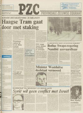 Provinciale Zeeuwse Courant 1981-05-12
