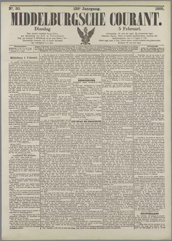 Middelburgsche Courant 1895-02-05