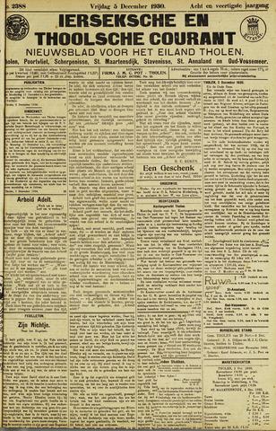 Ierseksche en Thoolsche Courant 1930-12-05