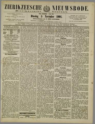 Zierikzeesche Nieuwsbode 1901-11-05