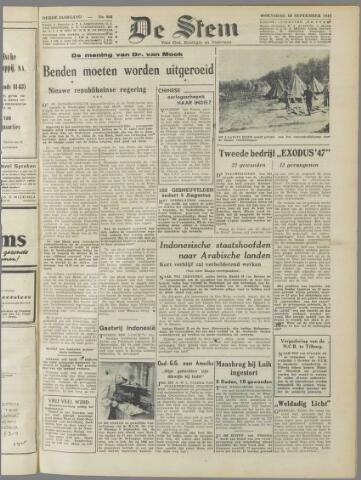 de Stem 1947-09-10