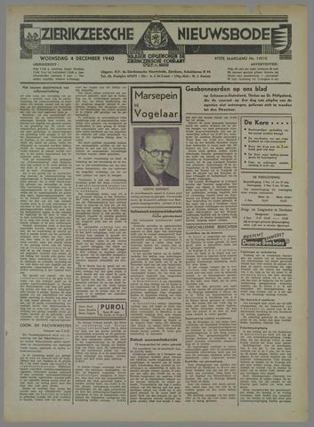 Zierikzeesche Nieuwsbode 1940-12-04