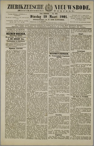 Zierikzeesche Nieuwsbode 1901-03-19