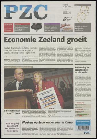 Provinciale Zeeuwse Courant 2013-04-26