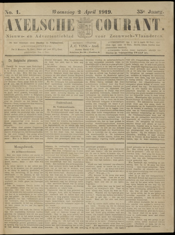 Axelsche Courant 1919-04-02