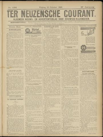 Ter Neuzensche Courant. Algemeen Nieuws- en Advertentieblad voor Zeeuwsch-Vlaanderen / Neuzensche Courant ... (idem) / (Algemeen) nieuws en advertentieblad voor Zeeuwsch-Vlaanderen 1928-10-12