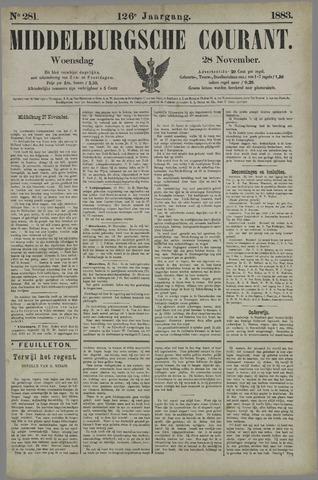 Middelburgsche Courant 1883-11-28