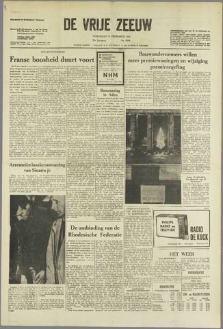 de Vrije Zeeuw 1963-12-11