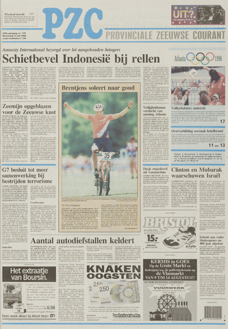Provinciale Zeeuwse Courant 1996-07-31