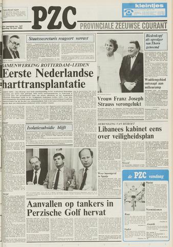 Provinciale Zeeuwse Courant 1984-06-25